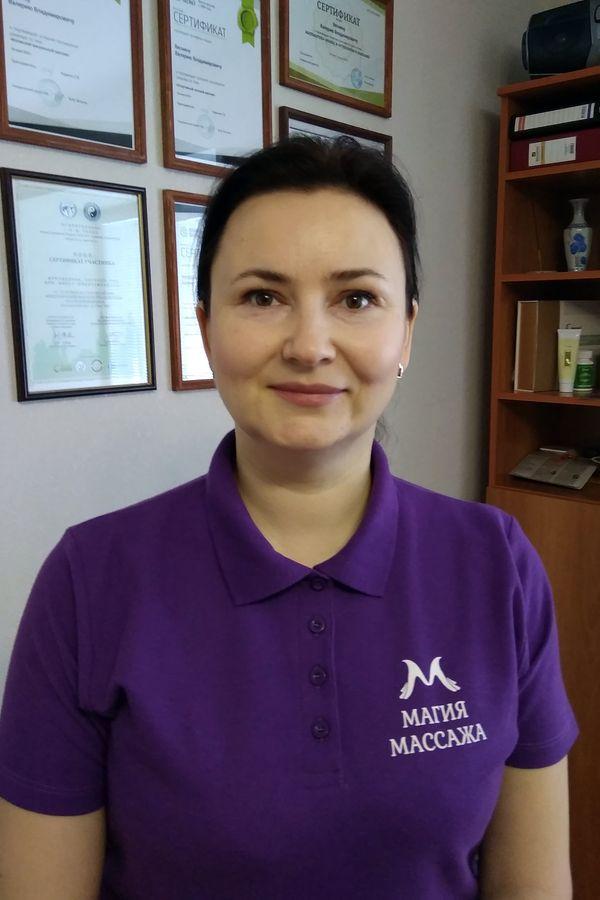 """Бажанова Лариса - директор """"Магии Массажа"""" в Перми"""